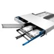 "HUBER+SUHNER IANOS Standard 1U 19"" rendező, 12 modul fogadására"