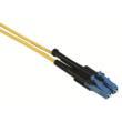 Monomódusú (SM 9/125 OS2), mindkét végén csatlakozókkal szerelt 12 szálas full-breakout optikai kábel, LC/PC-LC/PC, L=5 méter