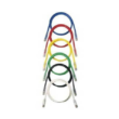 PANDUIT NetKey Category 6A UTP 10G patch kábel, szürke, L=15m