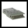PANDUIT Pan-Punch Category 5e patch kábel 4 érpáras Pan-Punch 110 és RJ45 T568A csatlakozóval, L=1.8 méter