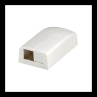 PANDUIT Mini-Com falon kívüli csatlakozó doboz, 2 Mini-Com betét fogadására, törtfehér