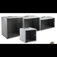 """EFB SOHO 19"""" 15U 535x450mm fali szekrény, lapraszerelt, RAL7035 szürke"""