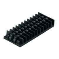 HUBER+SUHNER 12-es hegesztéstartó OptiBox 16/32 ACS-MCM és ACS-SPC kazettákhoz, 45 mm-es hegesztésvédő zsugorcsőhöz