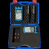 KURTH ELECTRONIC KE8001 MM Fibre Test Set (KE8000 teljesítménymérő + KE8100 fényforrás)