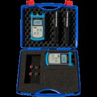 KURTH ELECTRONIC KE8002 SM Fibre Test Set (KE8000 teljesítménymérő + KE8200 fényforrás)