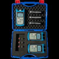 KURTH ELECTRONIC KE8003 MM+SM Fibre Test Set (KE8000 teljesítménymérő + MM és SM fényforrások)