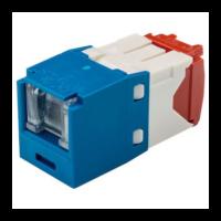 PANDUIT Mini-Com TX5e rugós port takaróval ellátott Category 5e UTP betétek