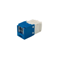 PANDUIT Mini-Com TX6 PLUS rugós port takaróval ellátott Category 6 UTP betétek