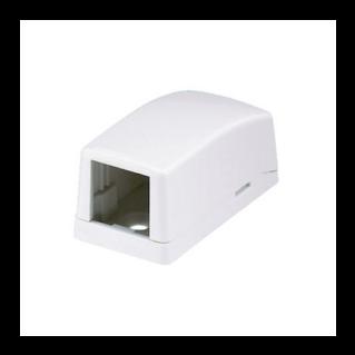 PANDUIT Mini-Com falon kívüli csatlakozó doboz, 1 Mini-Com betét fogadására, törtfehér