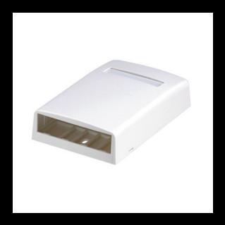 PANDUIT Mini-Com falon kívüli csatlakozó doboz, 4 Mini-Com betét fogadására, törtfehér