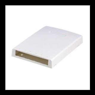 PANDUIT Mini-Com falon kívüli multimédia csatlakozó doboz, 6 Mini-Com betét fogadására, törtfehér