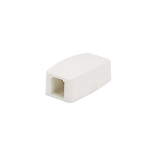 PANDUIT Mini-Com falon kívüli csatlakozó doboz, 1 Mini-Com betét fogadására, quick release, törtfehér