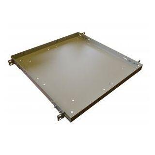 MD fix rögzítésű rack tálca, 600 mm mély, RAL9005 fekete