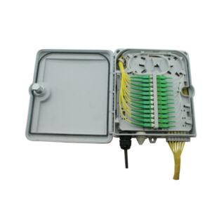 AFL HYPERSCALE optikai kötődoboz 12 szál végződtetéséhez, SC, E2000, LC dlx adapterhez, IP65
