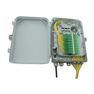 AFL HYPERSCALE optikai kötődoboz 24 szál végződtetéséhez, SC, E2000, LC dlx adapterhez, IP65