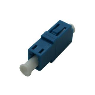 OPTRONICS optikai adapter, LC/PC szimplex SM 9/125 OS2, kék