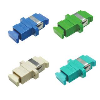 OPTRONICS optikai adapter, SC/PC szimplex SM 9/125 OS2, kék