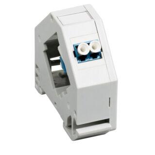 EFB DIN sínre szerelhető sorolható optikai adapter, LC duplex / SC szimplex