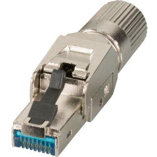 EFB Premium helyszínen szerelhető Category 6A 10Gbit STP (árnyékolt) RJ45 dugó