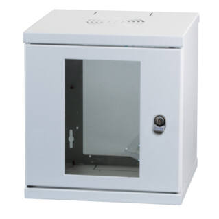 """EFB SOHO 10"""" faliszekrény, 6U, 300mm mély, RAL7035, szürke"""