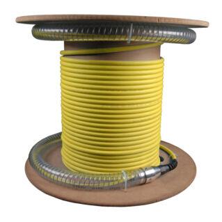 EFB MPO/MTP female Mini-Breakout Trönk kábel, Typ A, 36 szálas SM 9/125 OS2, sárga, L=70 méter