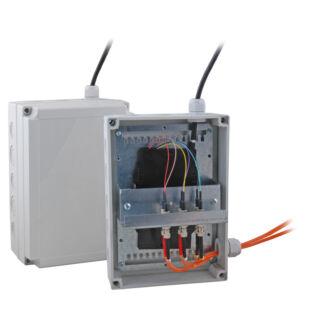 EFB kültéri műanyag hegesztődoboz, IP66, RAL7035 világosszürke