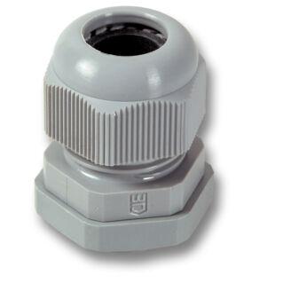 EFB műanyag tömszelence, PG16, RAL7035 világosszürke