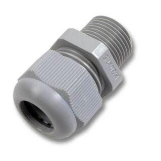 EFB műanyag tömszelence, M20, RAL7035 világosszürke