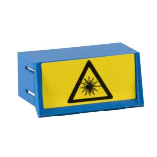Lézervédelmi kupak SC duplex adapterre, kék