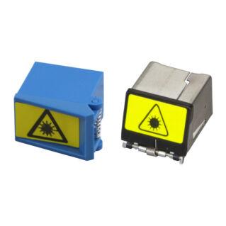 Lézervédelmi kupak LC duplex adapterre, fém