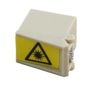 Lézervédelmi kupak SC szimplex adapterre, bézs