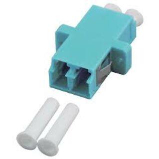 EFB LC duplex műanyag adapter, MM 50/125 OM3, türkiz