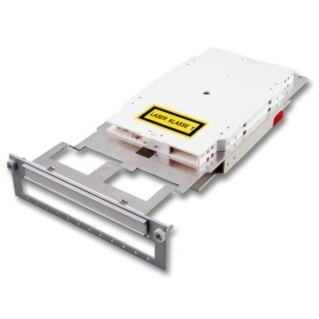 EFB üres Subrack plug-in modul, 6xLC duplex adapter fogadásához
