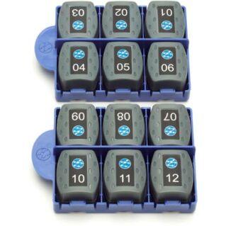 IDEAL NETWORKS 12 darabos RJ-45 remote unit készlet VDV II kábelvizsgálókhoz