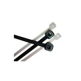 Tracon kábelkötegelő 140×3.5 mm fekete PA 6.6 (100 db)