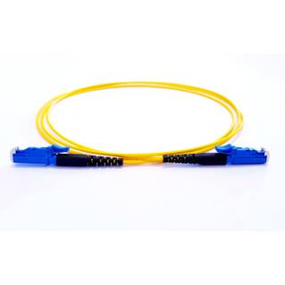 OPTRONICS E2000/PC-E2000/PC szimplex optikai patch kábel, monomódusú OS2 9/125 µm, sárga, L=10 méter