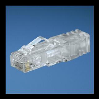 PANDUIT TX6A Category 6A RJ45 moduláris dugó AWG23-24 fali kábelekhez (tömör rézvezetőhöz)