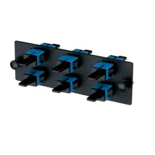 Panduit Opticom SC Fiber Adapter Panel (FAP), 6xSC szimplex, SM OS2