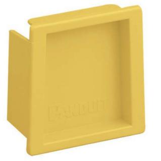 PANDUIT Fiber-Duct 2X2 végzáró, sárga