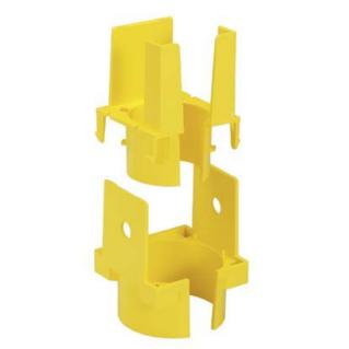 PANDUIT Fiber-Duct 2X2 leállás hasított védőcsőhöz, 1 portos, sárga