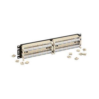 "PANDUIT GP6 PLUS Category 6 punchdown kirendező-szett, 19"", 2x96 érpáras (2x24 portos)"