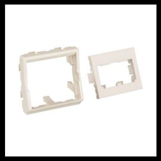 PANDUIT Mini-Com 45x45 adapter készlet, egyenes, fehér