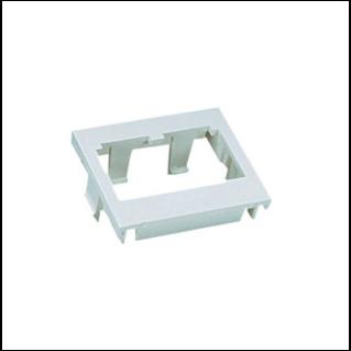 PANDUIT 2 modulhelyes insert, egyenes, fehér