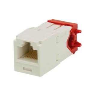 PANDUIT Mini-Com TX5e Category 5e UTP betét oldalsó kábelbevezetéssel, fehér