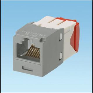 PANDUIT Mini-Com TX5e standard Category 5e UTP betét, szürke