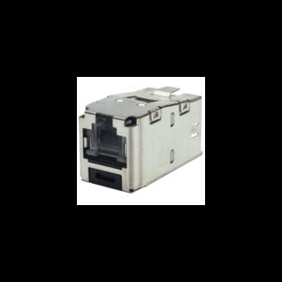 PANDUIT Mini-Com TX5e rugós port takaróval ellátott árnyékolt Category 5e STP betét
