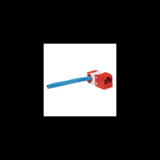 PANDUIT Mini-Com TX6 PLUS Category 6 UTP betét oldalsó kábelbevezetéssel, fehér