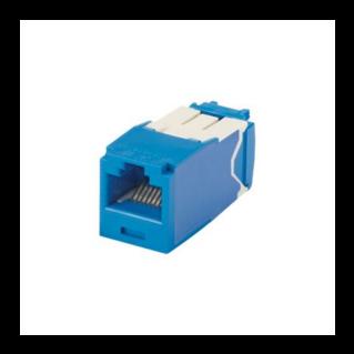 PANDUIT Mini-Com TX6A standard Category 6A UTP betét, kék