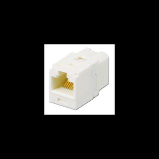 PANDUIT Mini-Com UTP coupler (toldó) betét, Category 5e, törtfehér