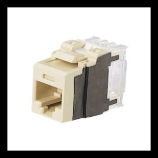 PANDUIT NetKey Category 6A UTP betét, csont, 25 darabos csomag